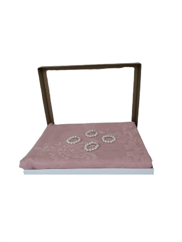 Masa Örtüsü -İnci - Pembe